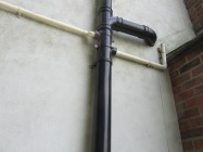 downpipes prelim washdown