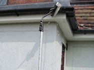 soffits and gutters being washed3